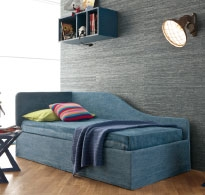 The jeans sofa bed